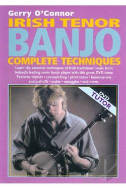 Gerry O'Connor - Irish Tenor Banjo Complete Techniques DVD Cover Art