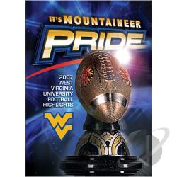 West Virginia 2007-2008 Football Hi-Lights DVD Cover Art