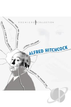 Alfred Hitchcock: Premiere Collection DVD Cover Art