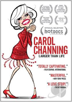 Carol Channing: Larger Than Life DVD Cover Art