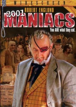 2001 Maniacs DVD Cover Art