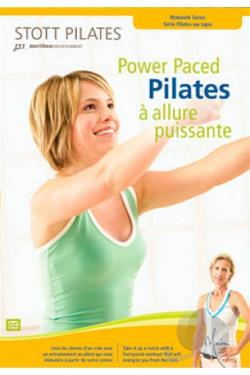 Power Paced Pilates DVD Cover Art