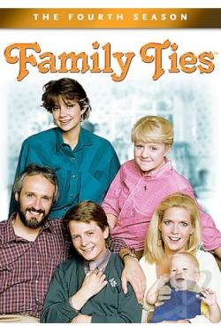 Family Ties - The Complete Fourth Season DVD Cover Art