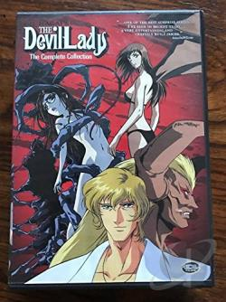 Devil Lady: The Complete Collection DVD Cover Art