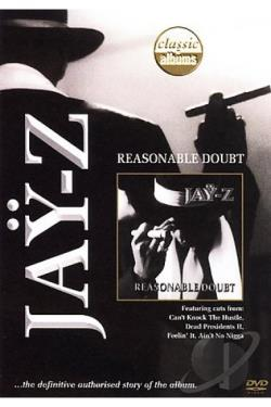 Jay-Z :Reasonable Doubt DVD Cover Art