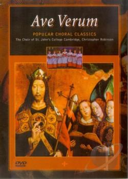 Ave Verum - Popular Choral Classics DVD Cover Art