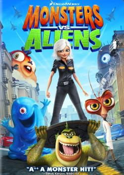 Monsters vs. Aliens DVD Cover Art