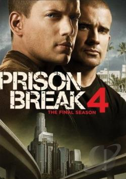 Prison Break - The Complete Fourth Season DVD Cover Art