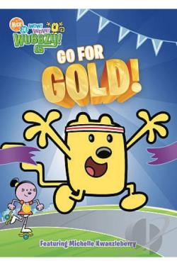 Wow! Wow! Wubbzy!: Go For Gold DVD Cover Art