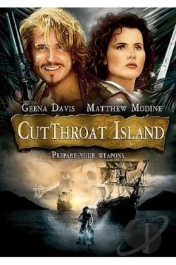 Cutthroat Island DVD Cover Art