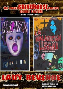 Lady Revenge: Curse Of La Llorona / Blown - Grindhouse Double Feature DVD Cover Art