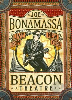 Joe Bonamassa: Live from New York - Beacon Theatre DVD Cover Ar