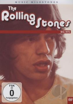 Rolling Stones: Music Milestones - Big Hits DVD Cover Art