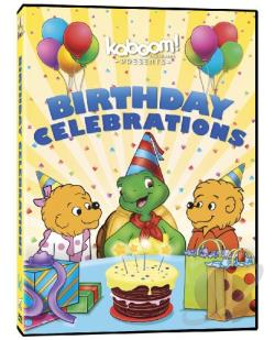 kaboom!: Birthday Celebrations DVD Cover Art