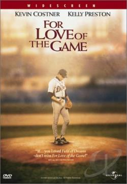 For Love of the Game DVD Cover Art