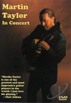 Martin Taylor in Concert DVD Cover Art