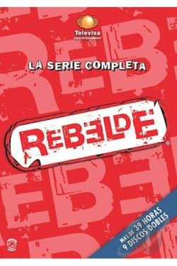 Rebelde - La Serie Completa DVD Cover Art