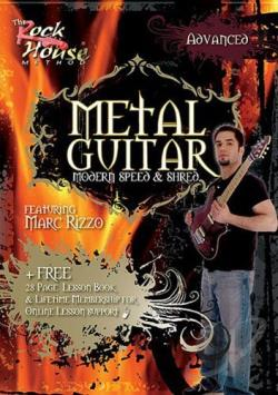 Metal Guitar - Modern, Speed and Shred: Advanced DVD Cover Art