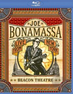 Joe Bonamassa: Live from New York - Beacon Theatre BRAY Cover Art