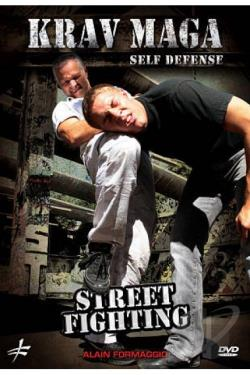 Alain Formaggio: Krav Maga Self Defense - Street Fighting DVD Cover Art
