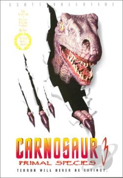 Carnosaur 3: Primal Species DVD Cover Art