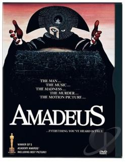 Amadeus DVD Cover Art