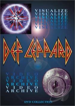 Def Leppard - Visualize/Video Archive DVD Cover Art