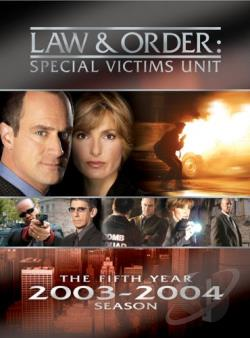 Law & Order: Special Victims Unit - The Fifth Year DVD Cover Art