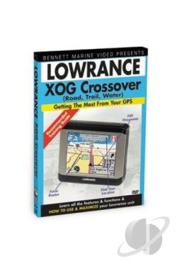Lowrance Xog Crossover: Road, Trail And Water DVD Cover Art