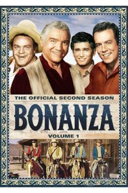 Bonanza - The Official Second Season: Vol. 1 DVD Cover Art