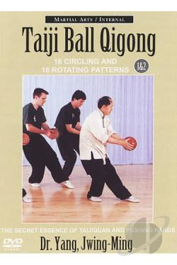 Taiji Ball Quigong - Courses 1&2 DVD Cover Art