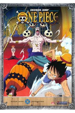 One Piece: Season 3 - Third Voyage DVD Cover Art