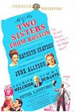 Two Sisters From Boston DVD Cover Art