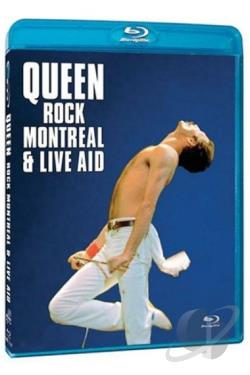 Queen - Rock Montreal & Live Aid BRAY Cover Art