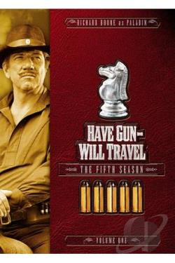 Have Gun, Will Travel - The Fifth Season: Vol. 1 DVD Cover Art