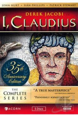 I, Claudius Collector's Edition DVD Cover Art