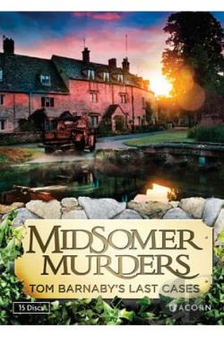 Midsomer Murders: Tom Barnaby's Last Cases DVD Cover Art