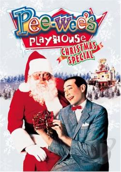 Pee Wee's Playhouse Christmas Special DVD Cover Art
