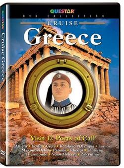 Cruise - Greece DVD Cover Art
