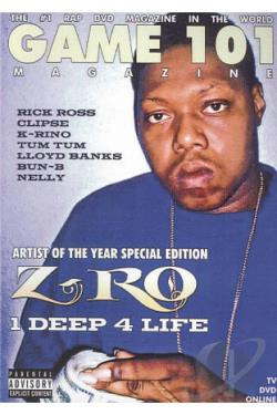 Game 101: Z-Ro - Deep 4 Life DVD Cover Art
