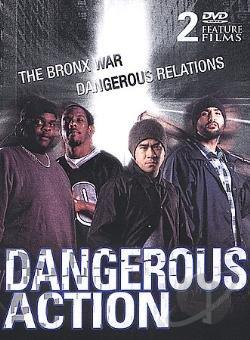 Dangerous Action - The Bronx War/Dangerous Relations: 2 Pack DVD Cover Art