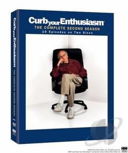 Curb Your Enthusiasm - The Complete Second Season DVD Cover Art