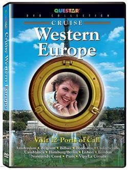 Cruise - Western Europe DVD Cover Art