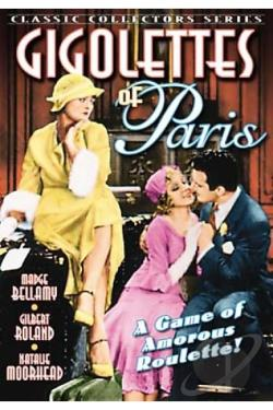 Gigolette of Paris DVD Cover Art
