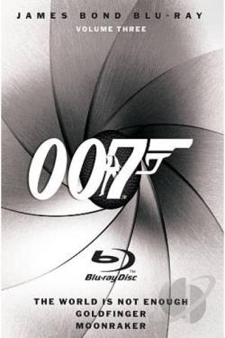 James Bond Blu-ray Collection - Vol.3 BRAY Cover Art