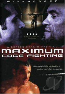 Maximum Cage Fighting DVD Cover Art