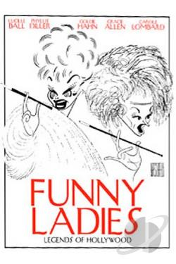 Legends of Hollywood - Funny Ladies DVD Cover Art