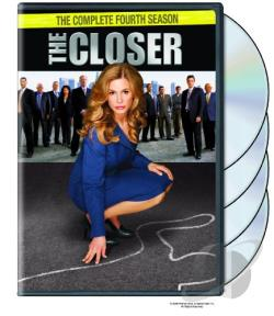 Closer - The Complete Fourth Season DVD Cover Art