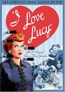 I Love Lucy - The Complete Third Season DVD Cover Art