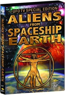 Mysterious Miracles - Vol. 2: Aliens from Spaceship Earth DVD Cover Art